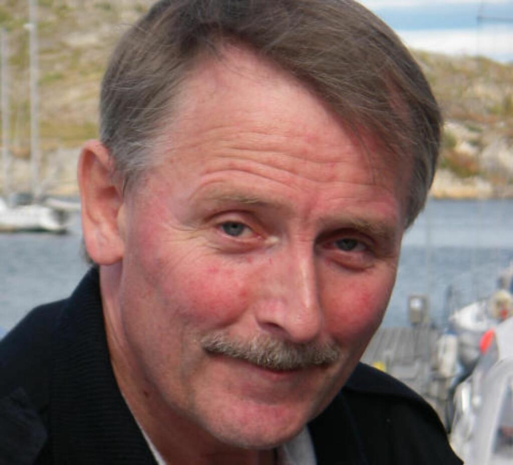 - SJELDENT DRAMATISK:  Redningsskipper Gunleif Westermann har 30 års erfaring i sjøredningstjenesten. - Det som skjedde i natt var uvanlig dramatisk, sier Westermann. FOTO: REDNINGSSELSKAPET.