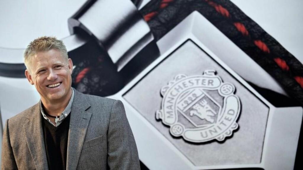 SKEPTISK: Peter Schmeichel mener Manchester United bør sikre seg en etablert toppkeeper. Foto: Keld Navntoft/SCANPIX