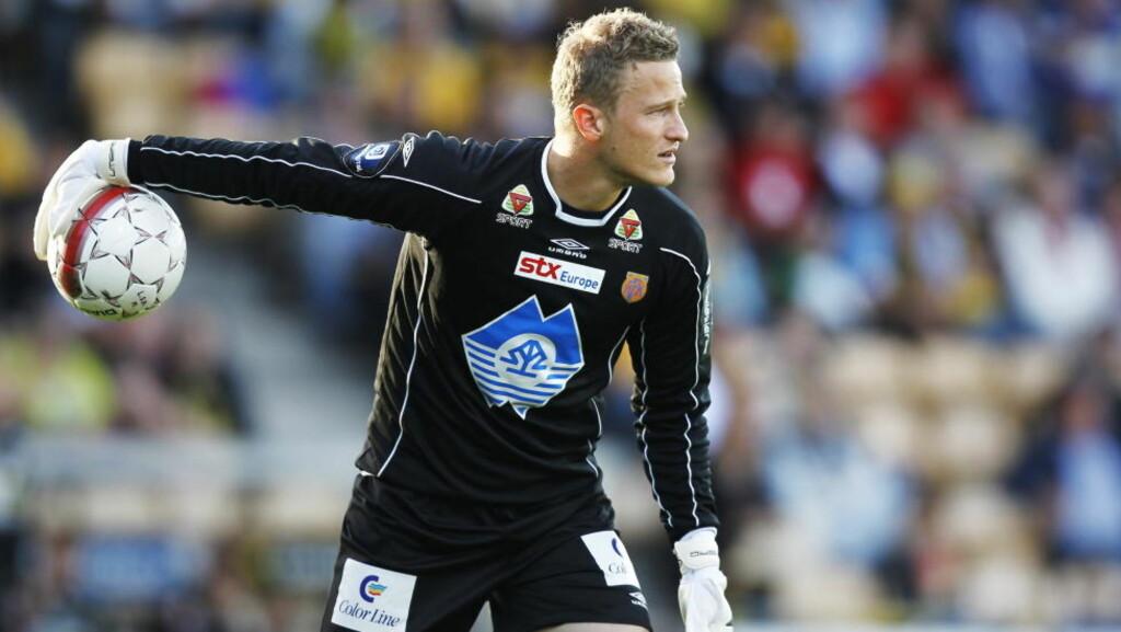 FORHANDLINGER: Aalesund og Manchester United er fortsatt i forhandlinger om en overgang for Anders Lindegaard. Foto: Erlend Aas / SCANPIX
