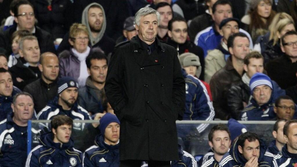 MAKTESLØS: Carlo Ancelotti erkjenner at han bare har begrenset kontroll over hva som skjer i Chelsea.Foto: SCANPIX/EPA/FELIPE TRUEBA