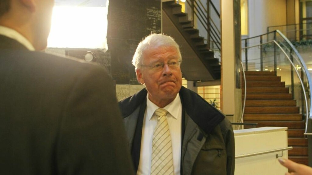 NYTT VIP-VITNE: Carl I. Hagen er enda en ny politikerkjendis som må vitne i bedragerisaken mot stortingspensjonistene Stangeland og Talleraas i Oslo tingrett. Foto: Berit Roald / Scanpix