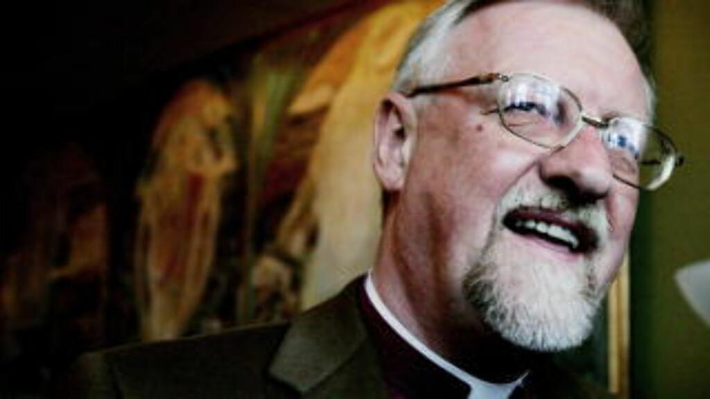 MØTTES: Biskop Ole Christian Kvarme skal i går kveld ha møtt Gelius for hemmelige samtaler. Foto: Jeanette Landfald/Dagbladet.