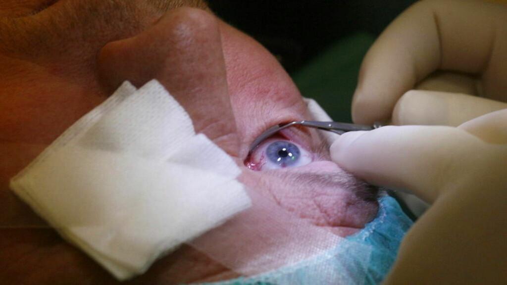 RASKT UNNAGJORT: På halvannen time er de fleste pasientene inn og ut fra Argusklinikken etter laseroperasjon. Foto: Torbjørn Berg
