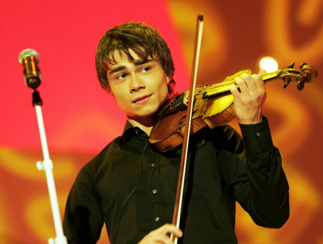 GLEDER SEG: Alexander gleder seg veldig til å delta i årets Melodi Grand Prix.  Foto: SCANPIX