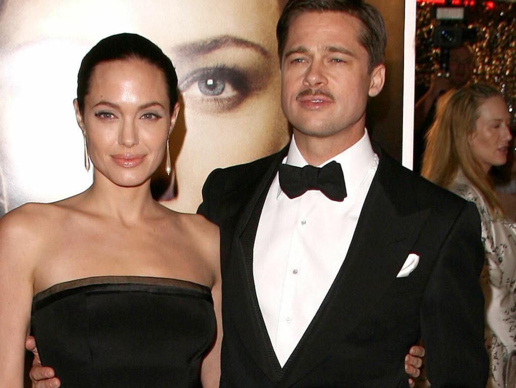 NOMINERT: Både Angelina Jolie og Brad Pitt er blant de nominerte til årets Golden Globe-utdeling.  Foto: Stella Pictures