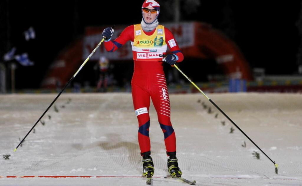 OPP FEM PLASSER: Jan Schmid gikk seg opp fra ellevte- til sjetteplass i det kombinerte langrennet i Kuusamo. Foto: Håkon Mosvold Larsen, Scanpix