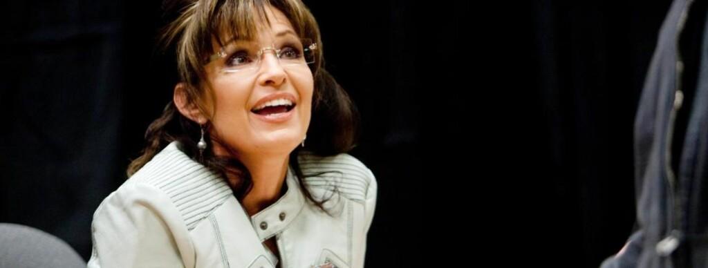 FORSVARER UTTALELSEN: Sarah Palin gikk i dag ut og forsvarte uttalelsen om å stå sammen med sine Nordkoreanske allierte på Facebook. Foto: EPA/COURTNEY SARGENT