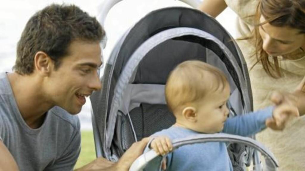 TREDELING: Det nye forslaget går ut på at mor tar en del, far tar en, så er resten til fri fordeling mellom dem. Illustrasjonsfoto: Colourbox.com
