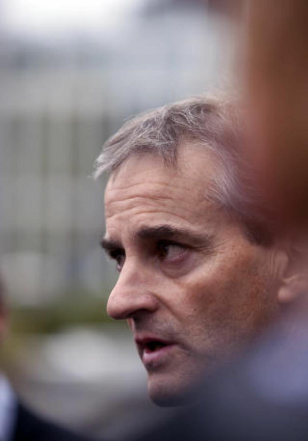 ORIENTERT: Utenriksminister Jonas Gahr Støre. Foto: Sara Johannessen / Scanpix