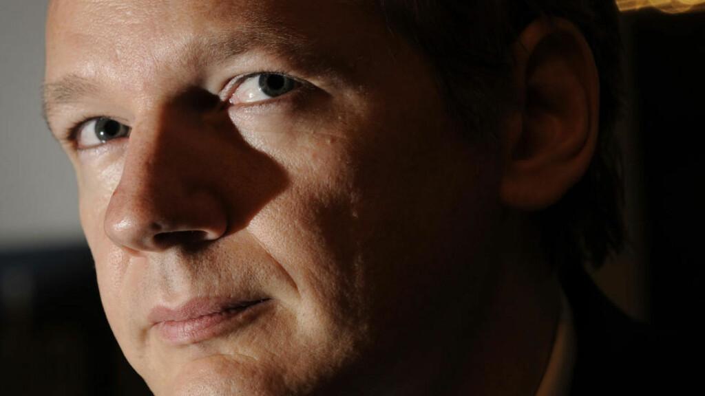 GA DOKUMENTER USA NEKTET Å GI: Wikileaks-gründer Julian Assange lekket dokumenter til dansk regjering. Foto: AFP Photo/Fabrice Coffrini/Scanpix
