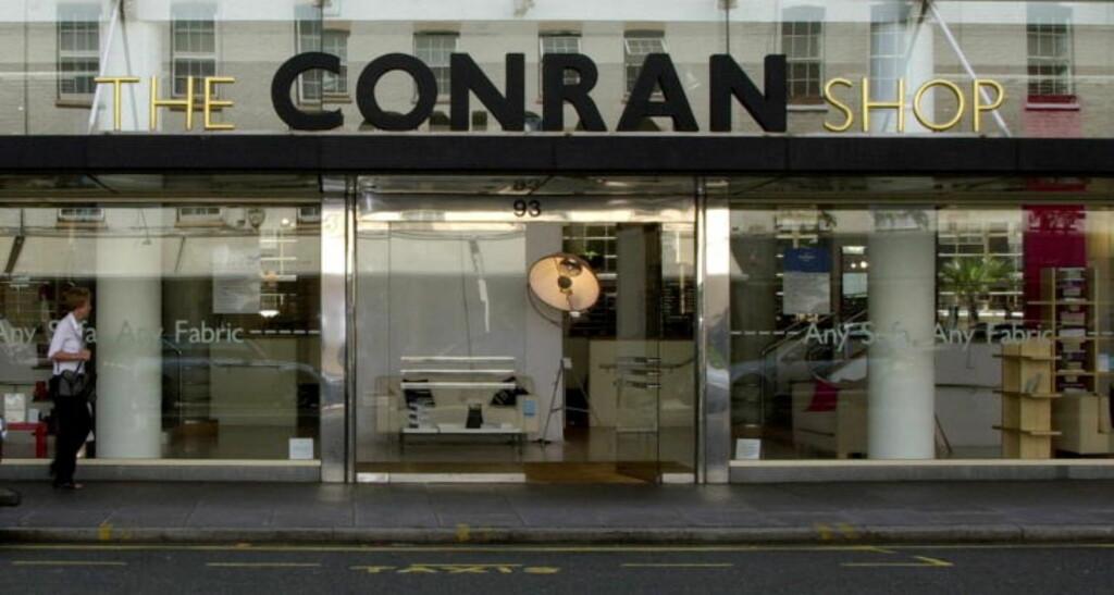 INSPIRASJON:  The Conran Shop er en de mest trendy møbelbutikken i London. Foto: JYTTE NIELSEN