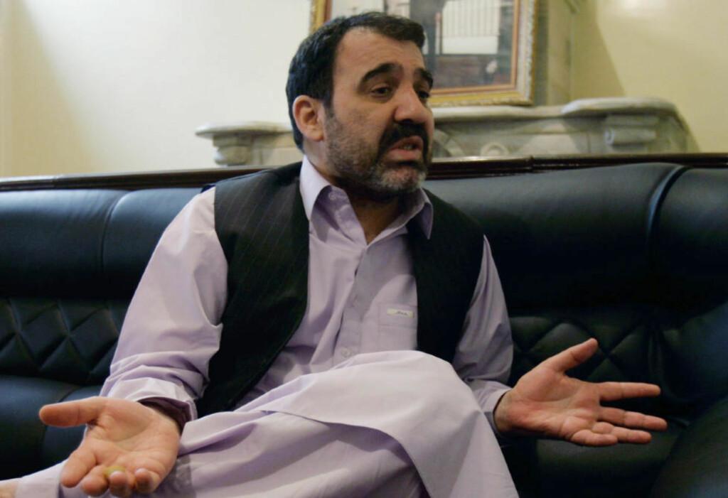 AVVISER ANKLAGENE: Ahmed Wali Karzai avviser at han er involvert i narkotrafikk, men amerikanerne er ikke i tvil i interne dokumenter. Foto: AP