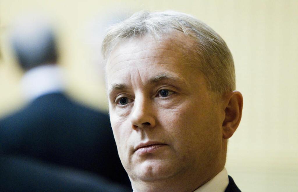 REDEGJORDE: Justisminister Knut Storberget orienterte Stortinget etter TV 2s avsløringer i den såkalte ambassadesaken. Berit Roald/Scanpix