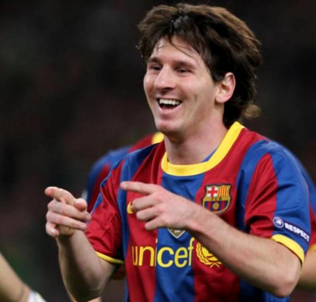 SLITER MOT MOURINHO: Messi har ikke scoret på de sju siste møtene med et José Mourinho-lag. Foto: (AP Photo/Petros Giannakouris)