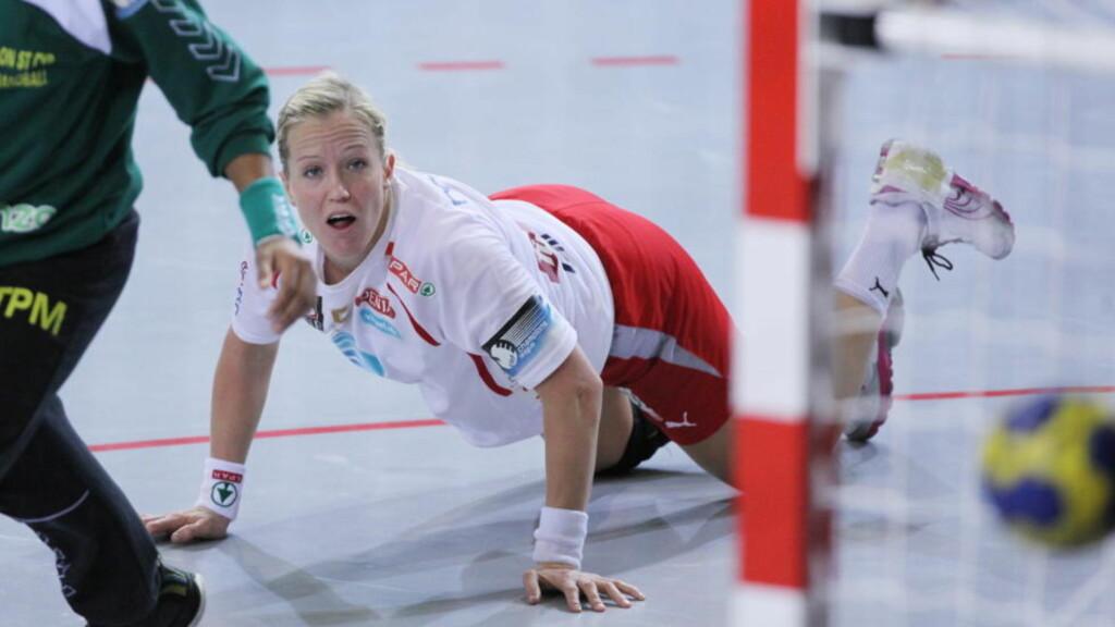 BRØT FORHANDLINGENE: Lønna Heidi Løke har bedt om av Larvik, er ifølge daglig leder Bjørn-Gunnar Bruun Hansen høyere enn noen andre spillere i klubben.  Foto: Trond Reidar Teigen / SCANPIX