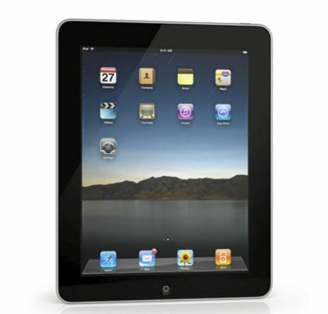 MINDRE? Rykten om at en ny iPad skal være mindre enn 9,7 tommer strider mot uttalelser fra Apple-sjefen, Steve Jobs. Apple