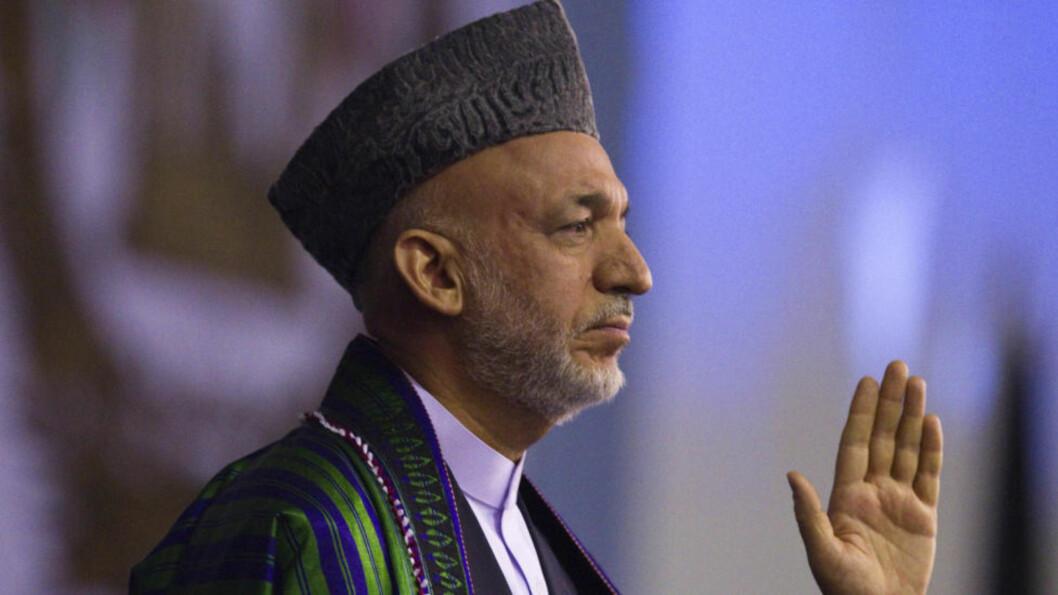 SENDER DEM TILBAKE TIL SLAGMARKEN : Afghanistans president Hamid Karzai har gitt ordre om løslatelse av en rekke farlige kriminelle og narkohandlere som var tatt til fange av amerikanske styrker, viser den siste lekkasjen fra WikiLeaks. Arkivfoto: Ahmad Masood/REUTERS.