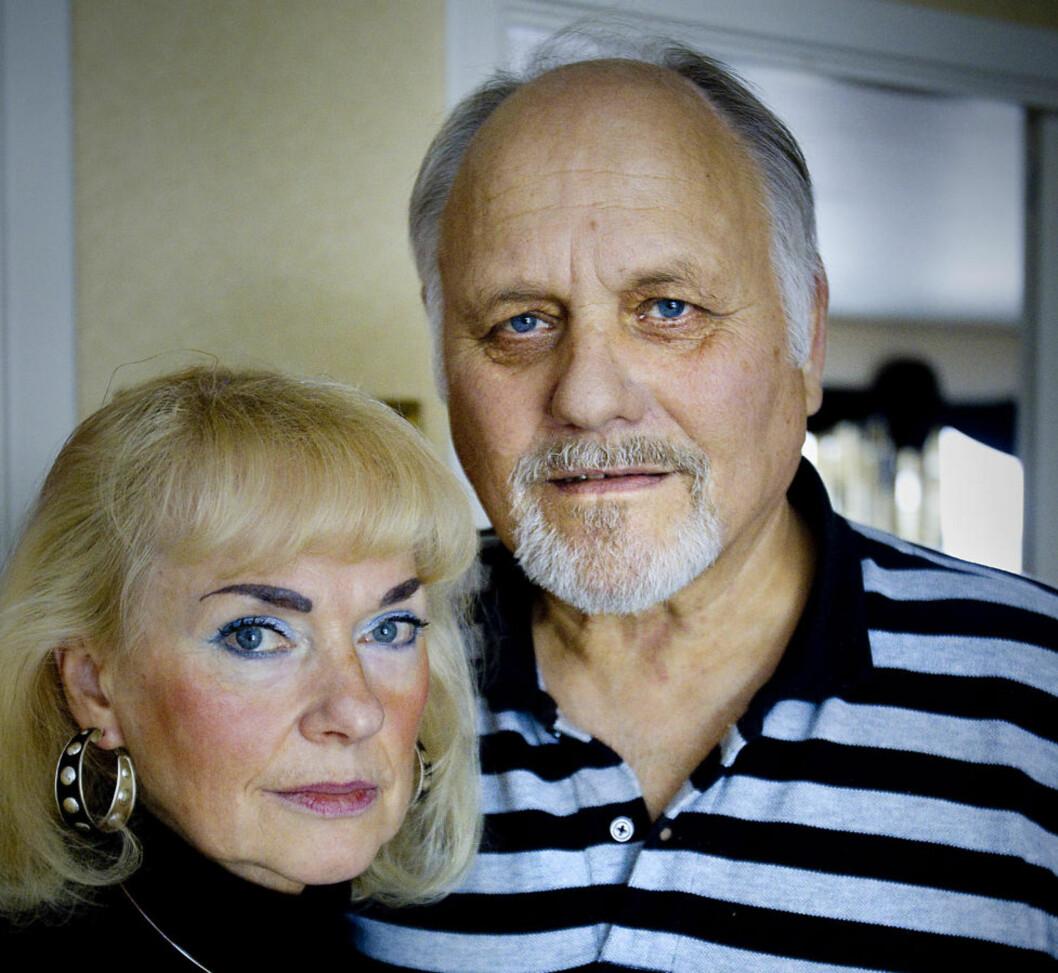 STOR RESPONS: Arnfinn Andreassen (66) fikk penis ødelagt av en cystoskopiundersøkelse. Han og kona Elin har fått mange henvendelser etter at saken sto på trykk i Dagbladet på søndag. Foto: Bjørn Langsem / Dagbladet.