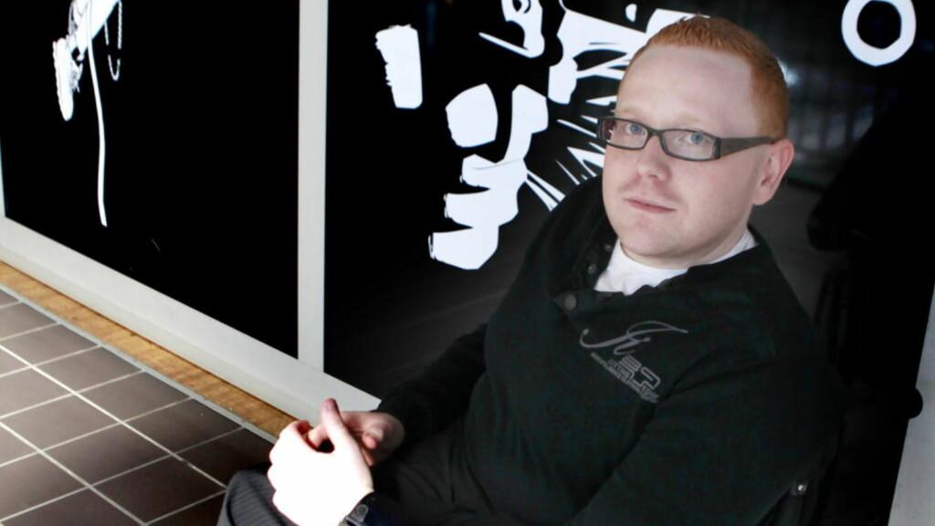 VINNER Jan-Erik Fjell har vunnet årets Bokhandlerpris for sin krimroman «Tysteren». FOTO: TORBJØRN BERG / DAGBLADET