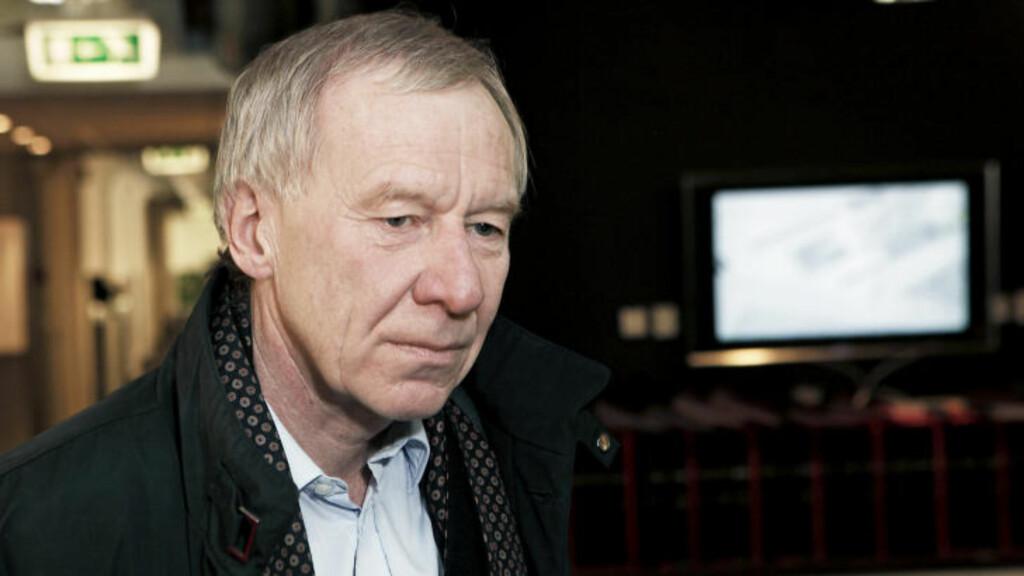KOMMENTERER IKKE: Konsernsjef i TV2, Alf Hildrum, ønsker ikke å kommentere om Telenor er ny hovedaksjonær i TV2. Foto: ERLING HÆGELAND