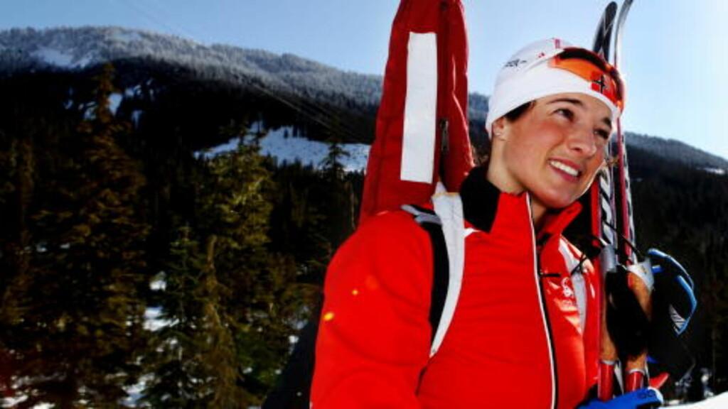 BESTE NORSKE: Ann Kristin Aafedt Flatland.  Foto: Jens Olav Kløvrud/Dagbladet