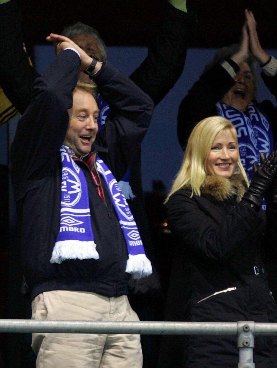 PAR 4: Både Kjell Inge Røkke og hans kone Anne Grete Eidsvig liker å trene, og de to har ved flere anledninger blitt observert joggende sammen.  Foto: SCANPIX