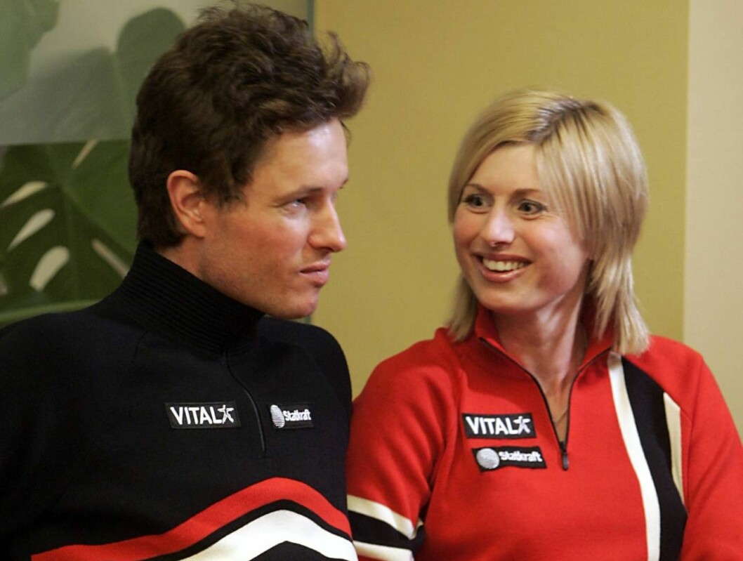 PAR 18: Frode Andresen og Gunn Margit Andreassen er store profiler innen norsk langrennssport.  Foto: SCANPIX