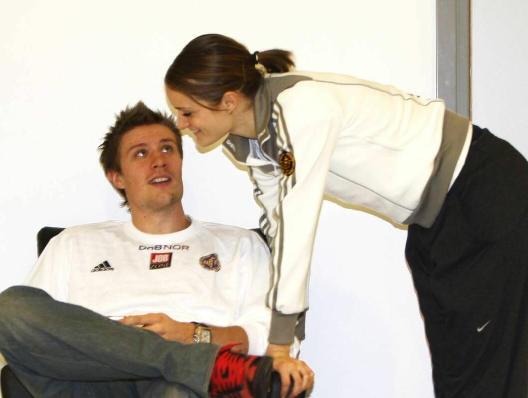 PAR 20: Både spydkaster Andreas Torkildsen og hans kjæreste, hekkeløper Christina Vukicevic er naturlig nok i storform.  Foto: SCANPIX