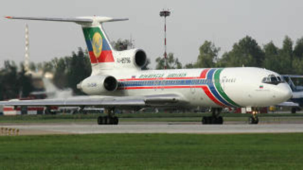 TUPOLEV 154 Dagestan Airlines Tupolev 154M FOTO:Wikipedia Commons