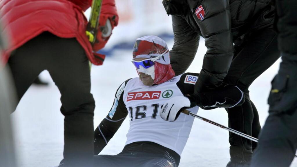 HØYDESKREKK: Petter Northug reiser på høydetreningsopphold Alpene i dag. Det er ikke lurt, mener en svensk lege og forsker. Foto: Ned Alley / Scanpix