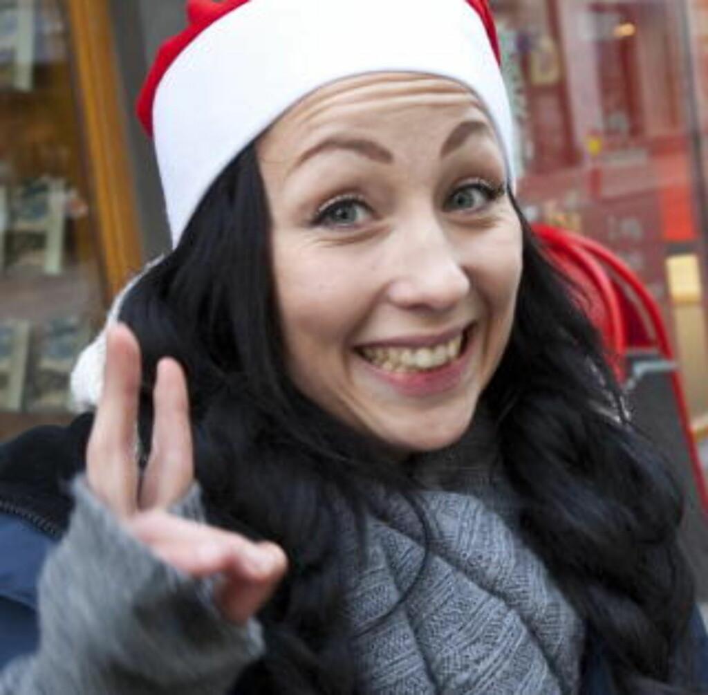 Amanda Bågling (23), butikksjef Cubus:1: I fjor fikk vi en kjempefin termos i svart stål.2: Skritteller. Det var bare en gratisprøve, dritdårlig.3: Vi får alltid fine gaver i Cubus, så jeg regner med at jeg blir fornøyd.Alle foto: TORBJØRN BERG
