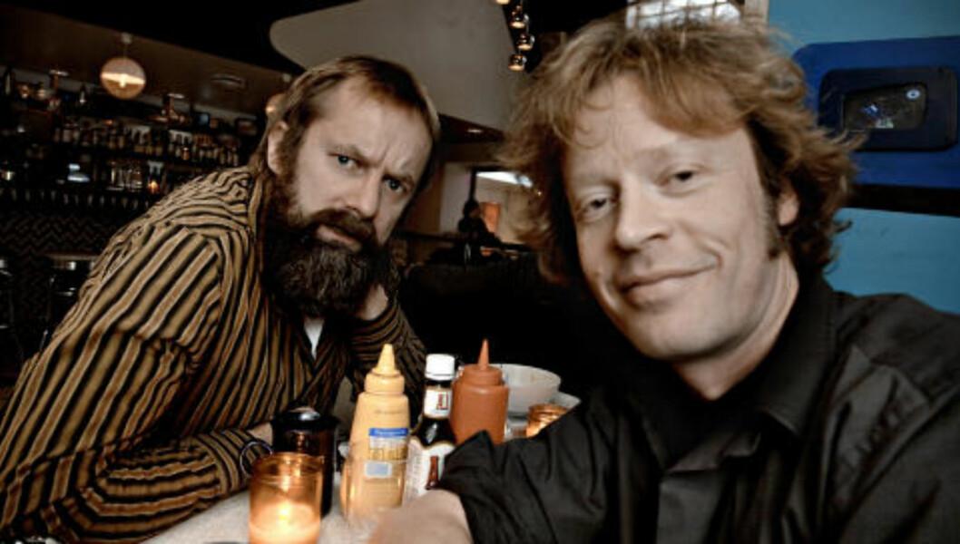 KOMPISER: Egil Hegerberg (til venstre) og Aslag Guttormsgaard tatt for en uke siden.