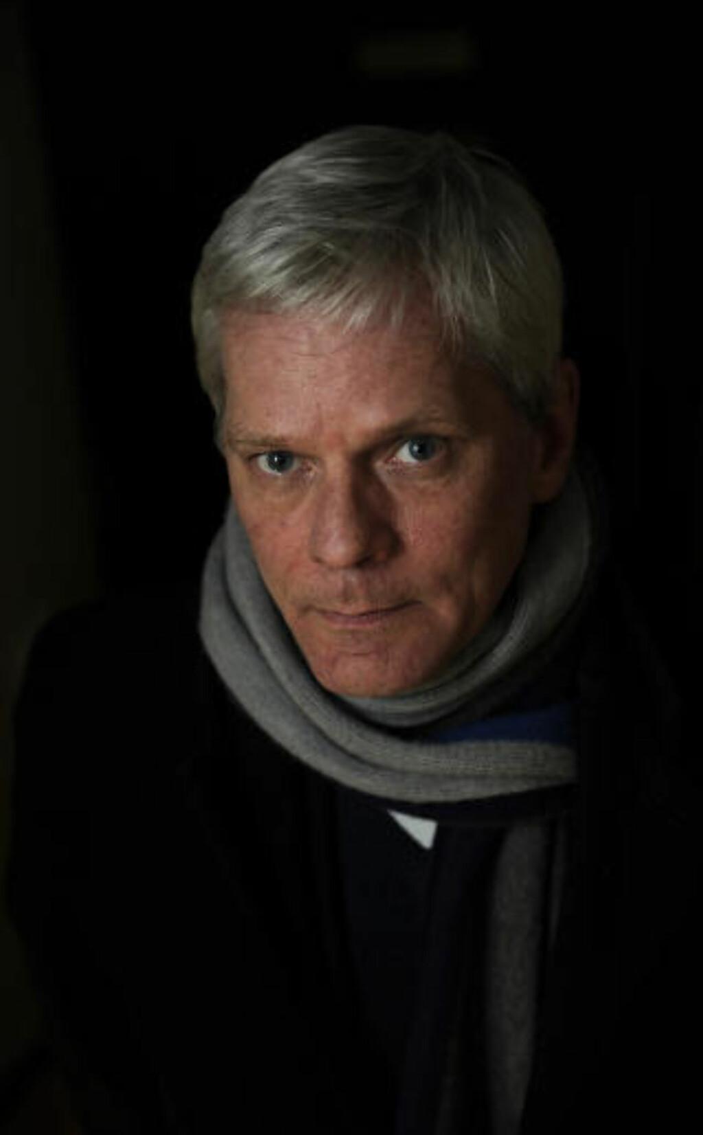 REAGERER STERKT: Wikileaks-talsmann Kristinn Hrafnsson sammenligner USA med Kina. Foto: Reuters/Paul Hackett/Scanpix
