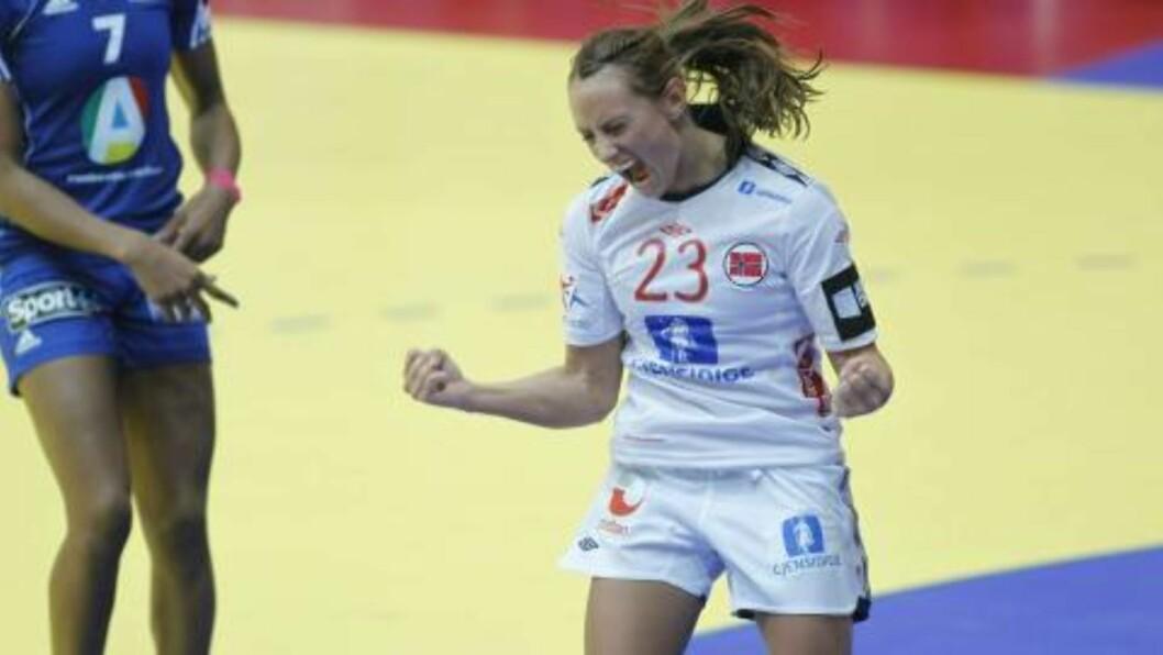 <strong>DRØMMESTART:</strong> Camilla Herrem scoret på tre av tre skudd.