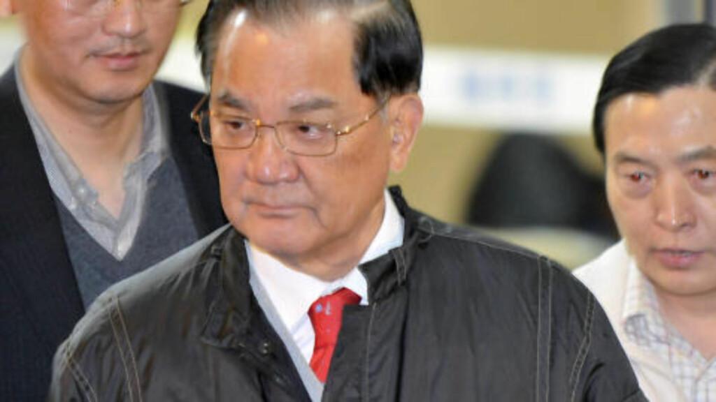 HAR VUNNET PRISEN: Det er den kinesisktaiwanske politikeren Lien Chan som har vunnet prisen, skriver Reuters. Foto: SCANPIX