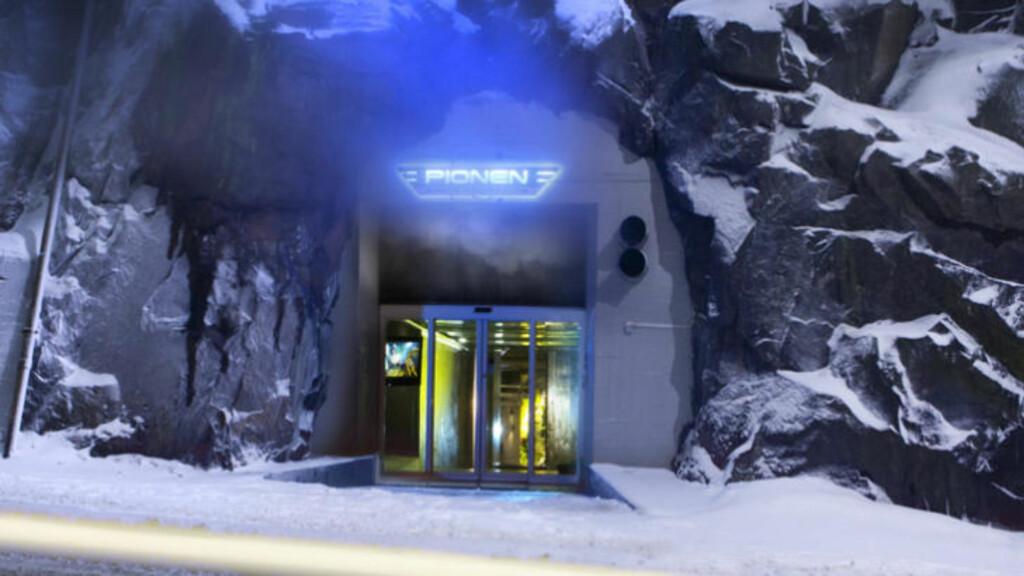 ATOMSIKKER: Her, i en atomsikker fjellbunker, ligger datasenteret Pionen i Stockholm. Foto: BAHNHOF