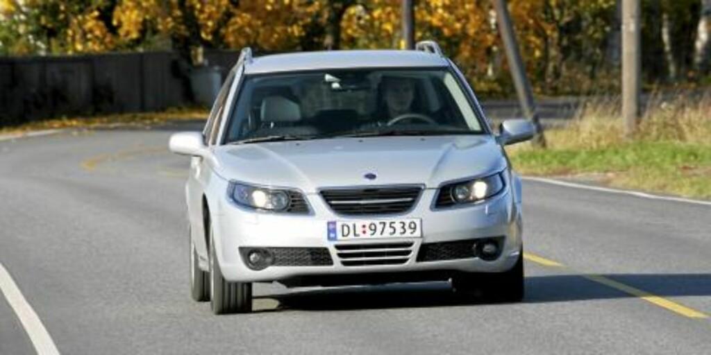 UNDER 200 000: En godt utstyrt 2-3 år gammel Saab 9-5 med diesel og automat, er godt mulig å sikre seg for under 200 000 kroner.