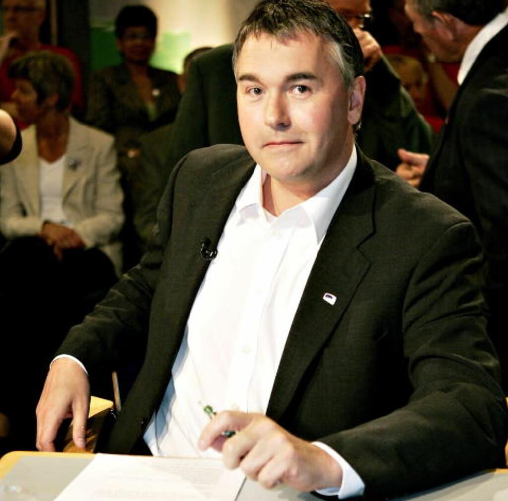 NØKKELROLLE: Trond Helleland (H) sier at partiet ikke vil forhaste seg. Foto Pål Terje Støtvig/Dagbladet