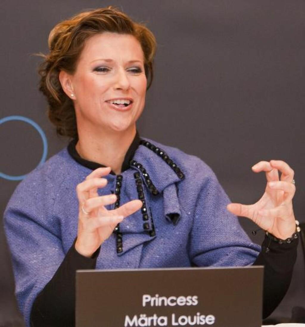 LIKER JULA: Det er tydelig at Prinsesse Märta liker jula, for hun ble vel ivrig da hun fortalte om egne tradisjoner. FOTO:PER FLÅTHE/DAGBLADET