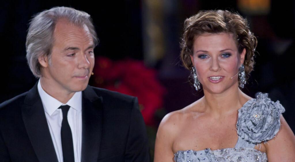 GODT TEAM:: Prinsesse Märtha og regissør Harald Zwart ledet julekonserten i Vang kirke, og utgjorde et godt team. FOTO: PER FLÅTHE/DAGBLADET