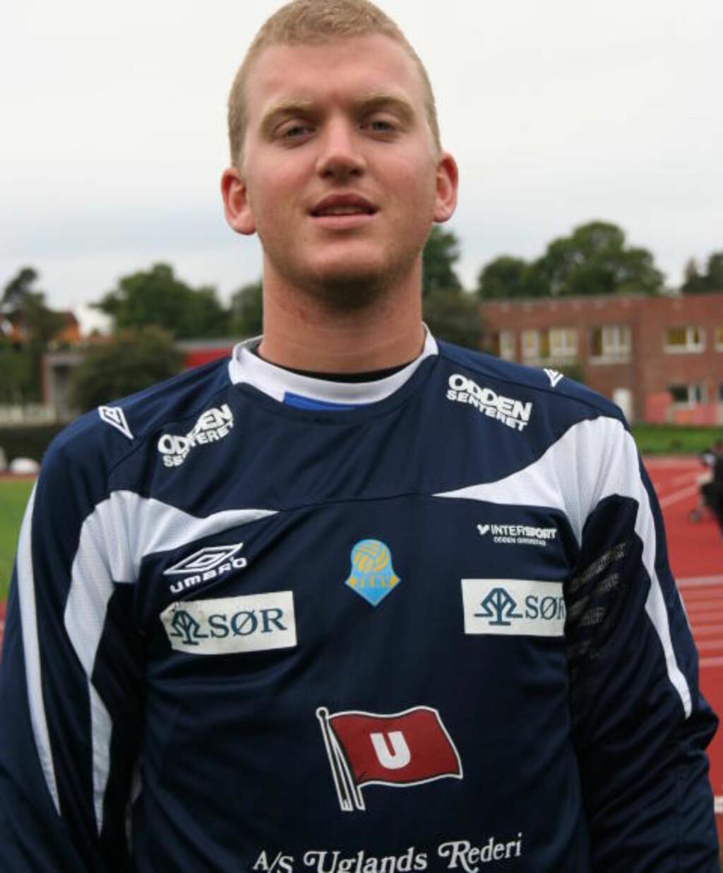 Ifølge hjemmesidene til Frigg IF, er Knut Nikolai Tønnevold Ugland singel, og «en viktig del av Jerv-kulturen». FOTO: JANICKE YTTERVIK/ Grimstad adressetidende.