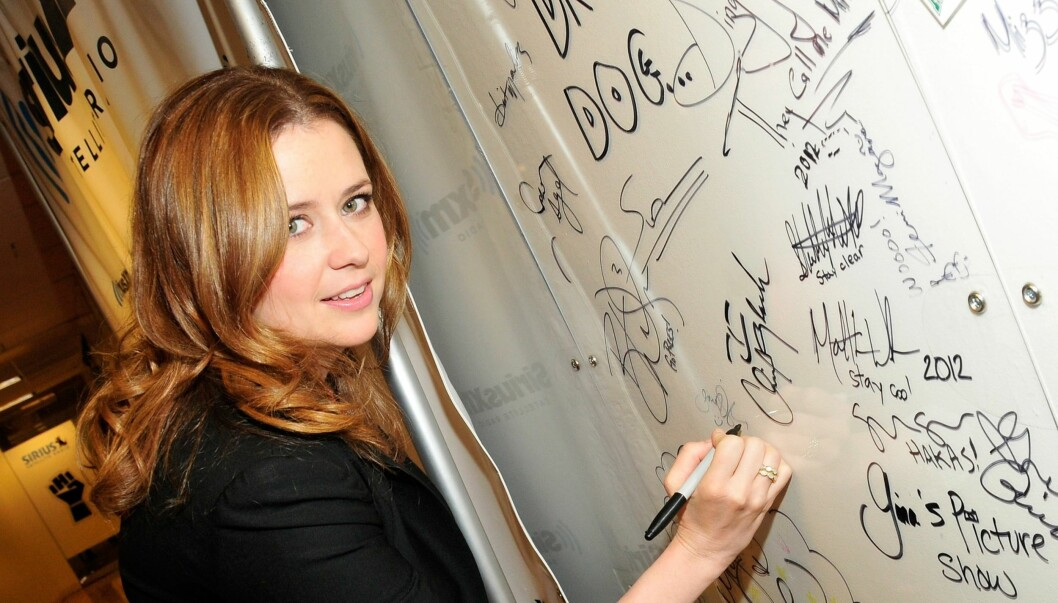 NEW YORK, NY - APRIL 25:  Jenna Fischer visits SiriusXM Studio on April 25, 2012 in New York City.  (Photo by Ben Gabbe/Getty Images) By: All Over Press / Getty Images CODE: GE01X8 Foto: All Over Press