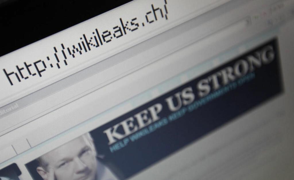 TATT: Det er satt inn en stor protestaksjon på nettet etter arrestasjonen av Wikileaks-sjef Julian Assange. Foto: Reuters/Scanpix