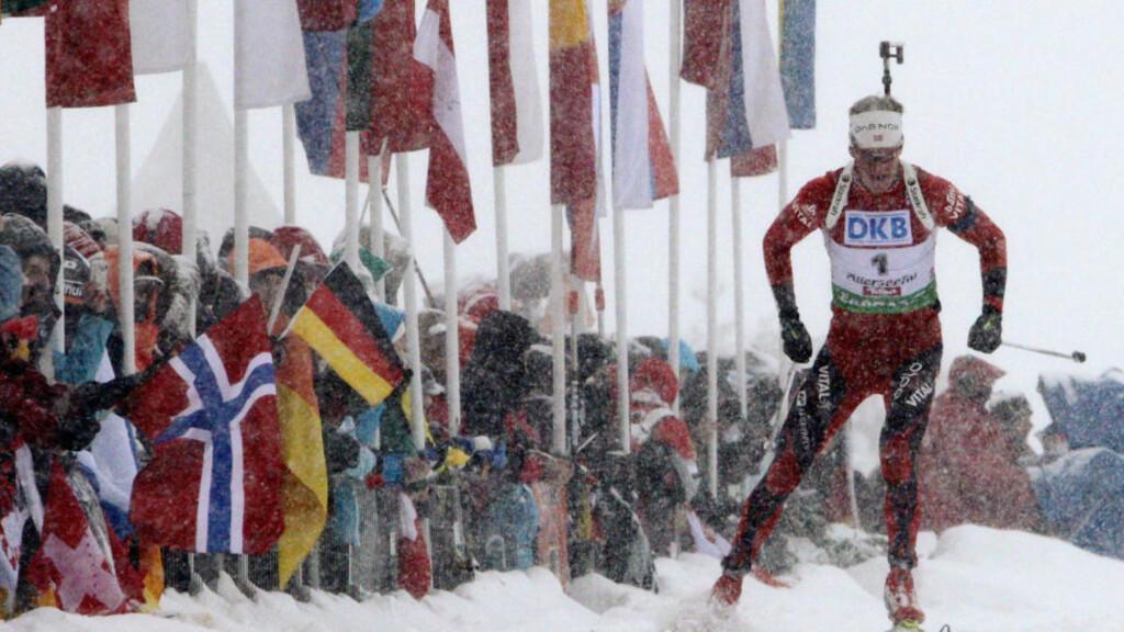 HELT USTOPPELIG:  Tre seire på tre dager. I Tarjei Bø har norsk skiskyting fått enda en mester. FOTO: REUTERS/Heinz-Peter Bader