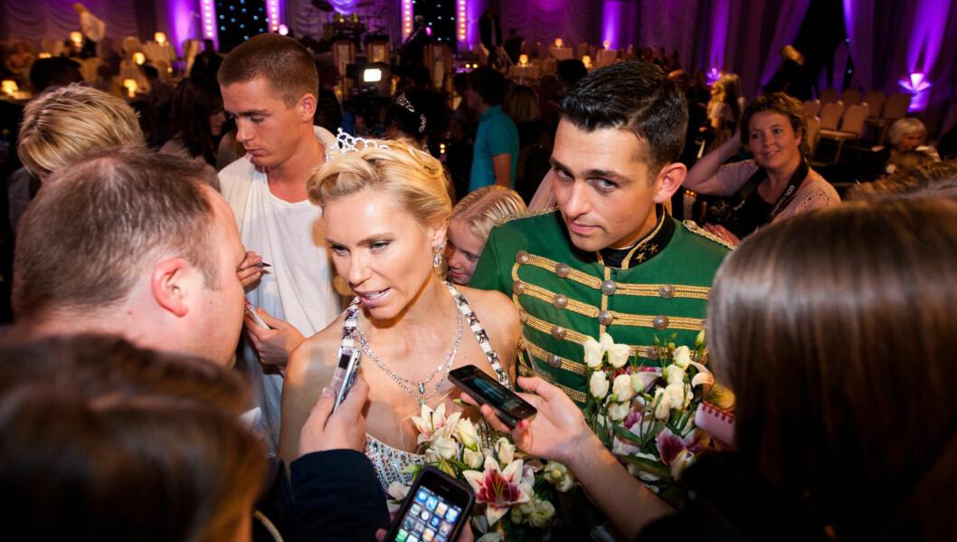KRITISK: - Det er bullshit. Også vinneren er bestemt på forhånd, mener Anna Anka etter «Skal vi danse»-exiten. Foto: Stella Pictures