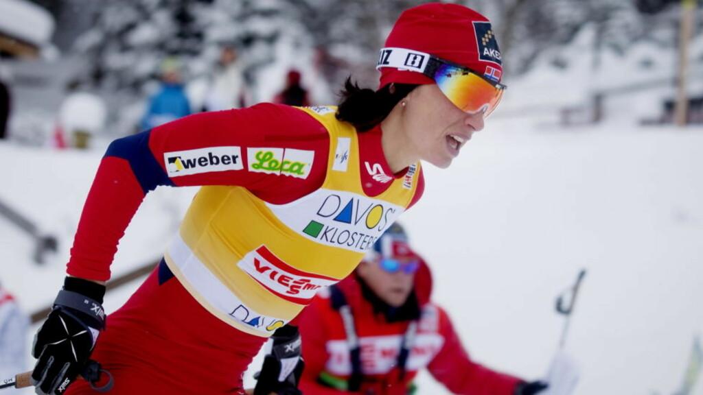 SUVEREN: Marit Bjørgen var overlegen på damenes sprintfinale i Davos. Foto: Scanpix Foto: Kyrre Lien / Scanpix