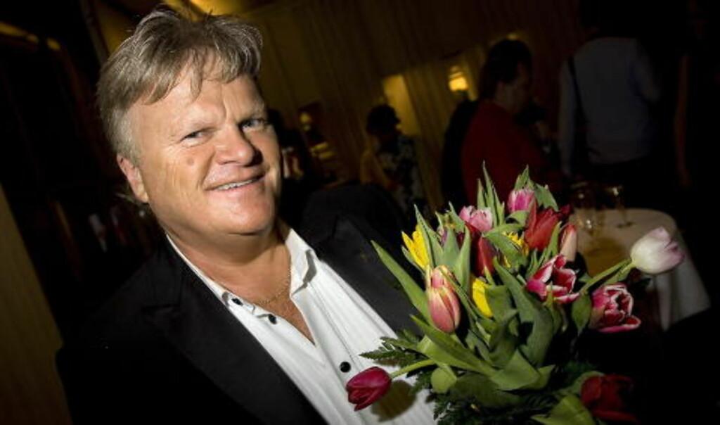 REAGERER: William Kristoffersen i Ole Ivars.  Foto: Anders Grønneberg/Dagbladet