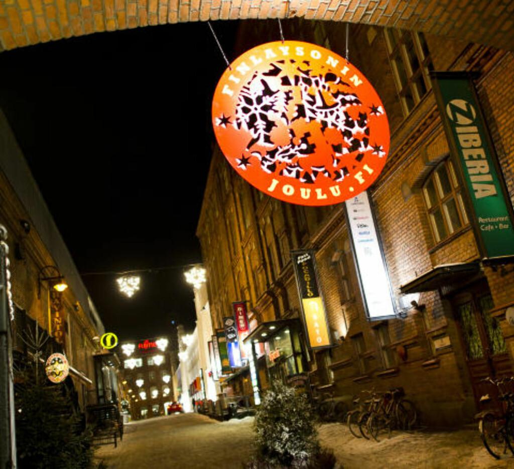 HISTORISK: Den gamle bomullsfabrikken huser i dag restauranter, butikker og kino.