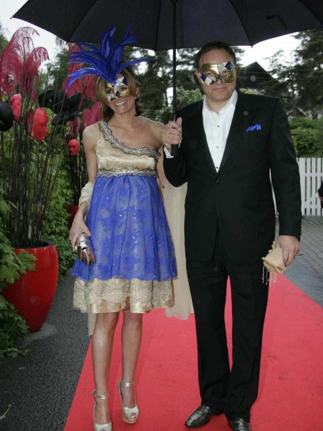 Prinesse Märthas forlover Marianne Ulrichsen med sin kjære mann. Foto: STELLA PICTURES