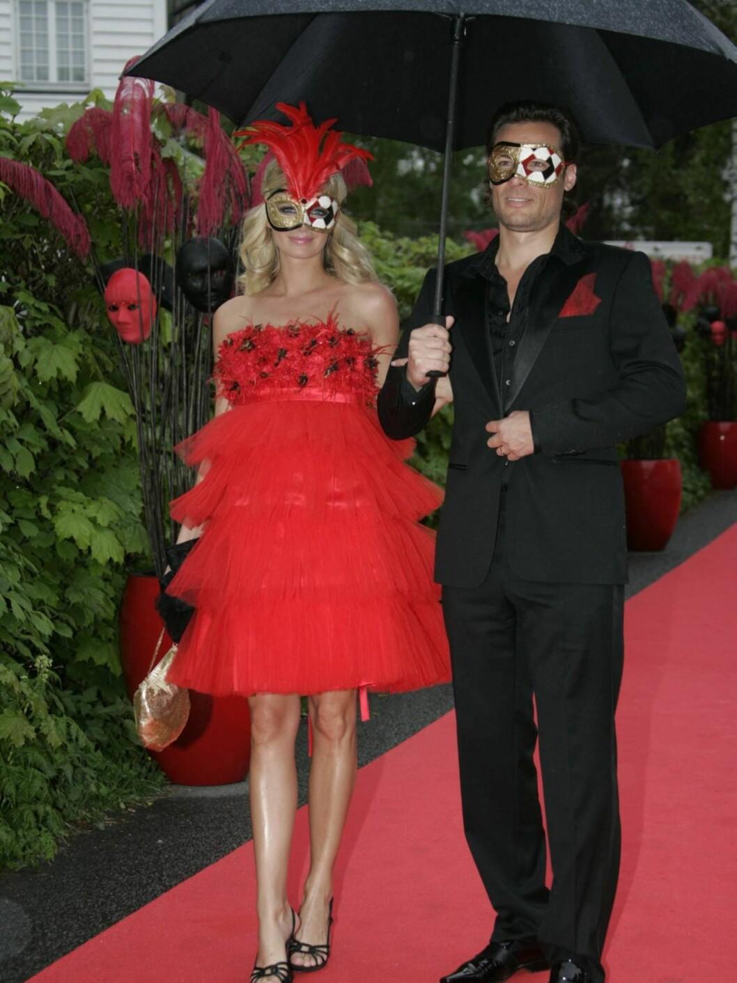 Cathrine Sørland og mannen Andreas Holck  Foto: STELLA PICTURES